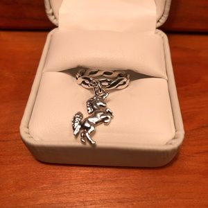 James Avery Unicorn Twist Wire Ring Retired🦄RARE